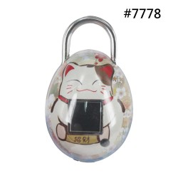 Bio-Key TouchLock Fingerprint Smart Padlock QL - Quail Egg Shape