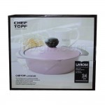 Korea Chef Topf La Rose 24cm Casserole/Pot RO-24A