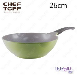 Korea Chef Topf La Rose Wok 28cm