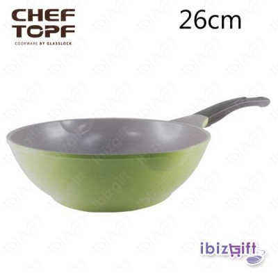 Korea Chef Topf La Rose Wok 26cm