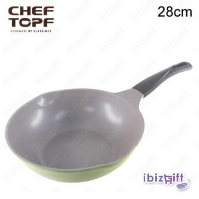 Korea Chef Topf La Rose Wok 28cm