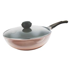 Korea Chef Topf La Rose Wok 30cm with Lid