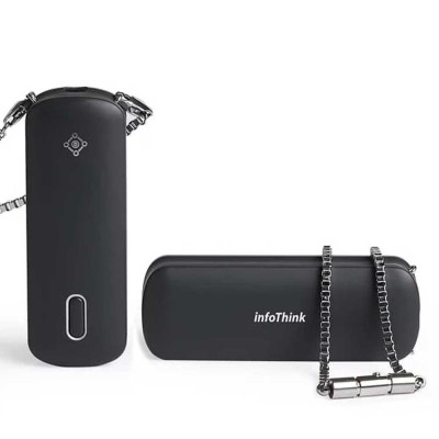 InfoThink iAnion-100 Portable Necklace Ionizer Air Purifier 99% Negative Ion