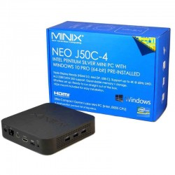 Minix Neo J50C-4 Mini PC Windows 10 PRO 8GB RAM 240GB SSD