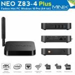 Minix NEO Z83-4 PLUS WINDOWS 10 PRO FANLESS MINI PC Z83-4