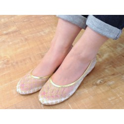 Mywarisa Paradin Flat Shoes, Japanese Design, Hand-made in Thailand