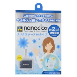 Nanoclo2 Sanitization & Deodoriztion Pack contains Chlorine dioxide
