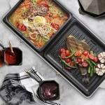 Nathome shabu-shabu Pot & Grill Pan All-in-one NSK20