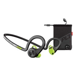Plantronics Backbeat Fit Version 2 Bluetooth Headset Boost Edition with charging pouch