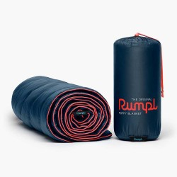 Rumpl Original Puffy Blanket - DeepWater Blue