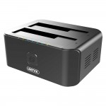"Unitek USB3.0 to SATA6G Dual Bay 2.5""/3.5""Hard Disk Docking Station"