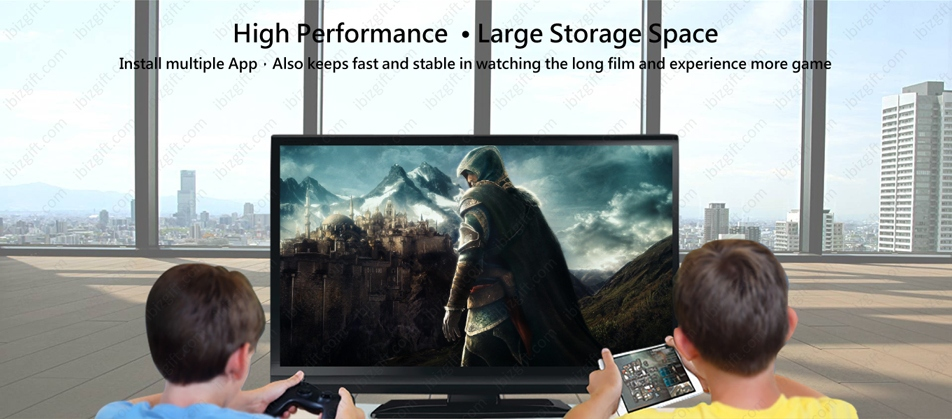 Boss TV V3 PRO Set-top Box - High Performance,Large Storage SpaceInstall multiple App,Also keeps fast and stable in watching the long film and experience more game