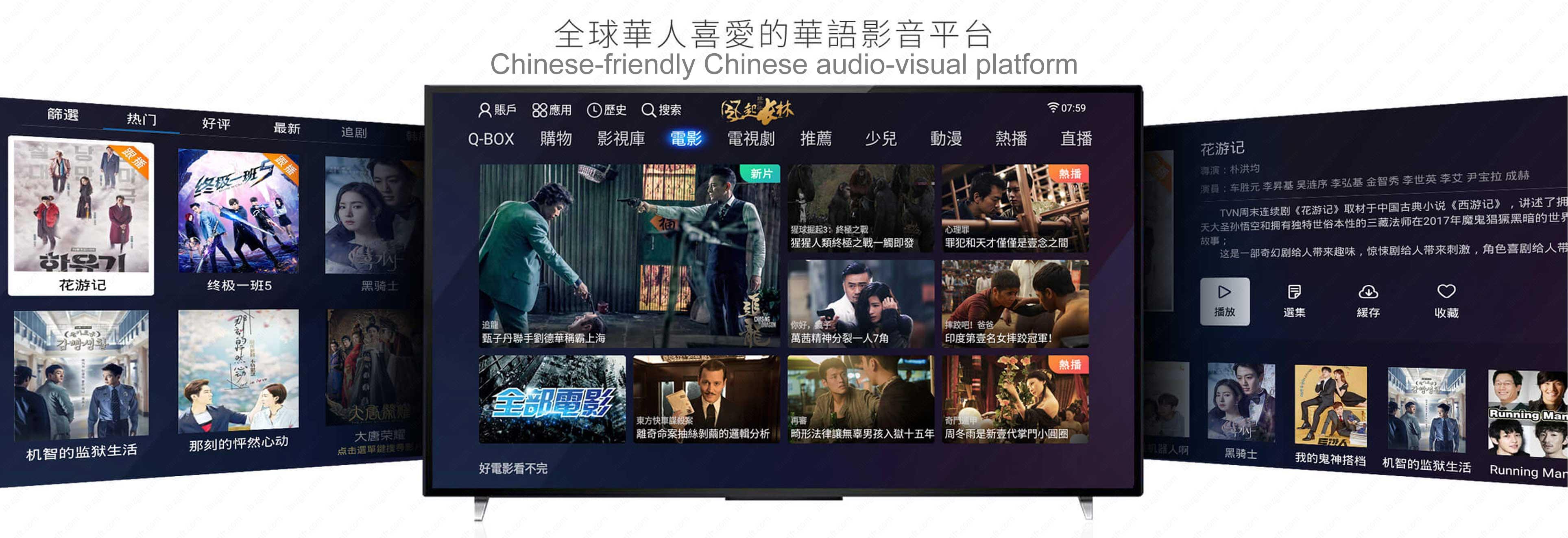 QianXun QBox5, qbox5, tvbox, set-top box